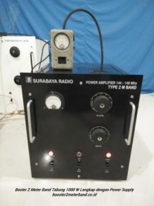Booster 2 Meter Band 1000 W Tabung