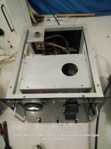 Booster 2 Meter Band 144 Mhz Tabung 1500 W Lengkap dengan Power Supply