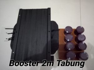 Booster Tabung 2 Meter Band 144Mhz