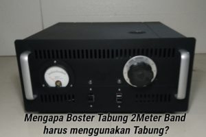 Booster Tabung 2 Meter Band