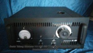 Booster Tabung 2 Meter Band 144 Mhz 500 W Lengkap dengan Power Supply dan Tinggal Colok Listrik