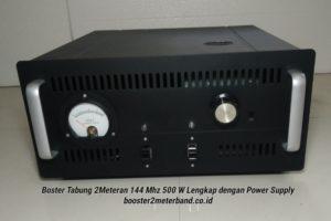 Booster Tabung 2 Meter Band 144 Mhz 500 W Tinggal Colok Listrik
