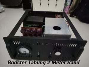 Cavity Booster 2m Band Tabung 400 W