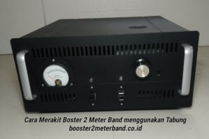 Produk Booster 2m Band menggunakan Tabung