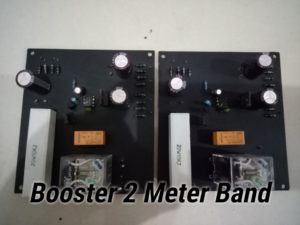 Switching Boster Tabung 2Meter Band