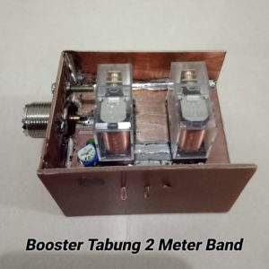 Switching Booster 2 Meter Band Tabung 400 W