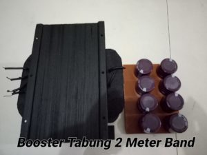 Travo High Voltage Booster Tabung 2 Meter Band 400 W
